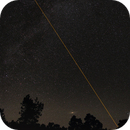 Seeing Laser GTC,Andromeda,  double cluster and meteor,                                Jörg Möllmann