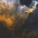 NGC7000 HA OIII,                                Stéphan & Fils