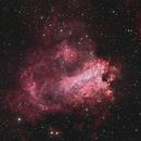 Omega Nebula (Swan Nebula). LRGB.,                                Chris