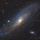 M31 - Andromeda galaxy,                                Zocky