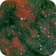 NGC 7000, Section, HaRGB,                                Stephen Garretson