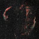 Dual Narrowband Cygnus Loop,                                blairconner
