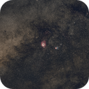 M8 and M20 - Sagittarius wide field,                                Emmanuel Fontaine