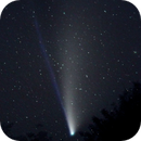 NEOWISE shooting out of the woods.,                                Ian Gorin