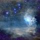 Flaming Star nebula C31/Ced42/LBN795/IC405/Sh2-229/VdB34 (c-shorgb),                                Ram Samudrala