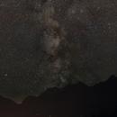 Milky Way over Carinthian Alps,                                Fritz