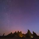 Trona Pinnacles before dawn,                                Dan Watt