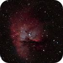 Pacman Nebula Bicolor,                                Anderson Thrasher