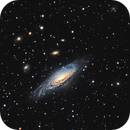 NGC7331 LRGB+Ha,                                Mark Holbrook