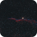 Western Veil Nebula (Witch's Broom) NGC6960 with only 40 mins exposure,                                PeterCPC