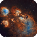 NGC 6334 Cat's Paw Nebula,                                SCObservatory
