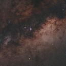 Two Sagittarius Star Clouds in a Bortle 1 Sky,                                BQ_Octantis