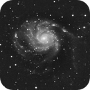 first image of 2021 - 7 hours and 20 minutes on m101 on a very humid night,                                Stefano Ciapetti