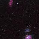 Orion and Horse Head Nebular,                                RemainingSelf