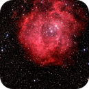 Rosette Nebula taken at Joshua Tree,CA,                                gmelikian