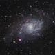 M33 - Triangulum Galaxy,                                Gordon Hansen