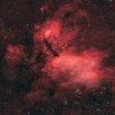 IC4628 - Prawn Nebula,                                Cluster One Observatory