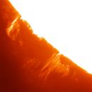 Large Solar Prom Animation July 15 2020,                                astrobrad