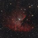 NGC 281, der Pacman Nebel,                                Martin Luther