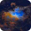 M16 The Eagle Nebula,                                John Kanouse