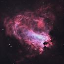 Omega Nebula (HOO),                                Trevor Jones