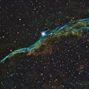 Veil Nebula modified Hubble Palette,                                MarcoLuz