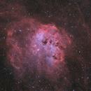IC 410 - BiColor Ha/O3,                                Jonas Illner