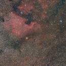 NAN NGC 7000 (tracking test CEM25P),                                Sven Hendricks