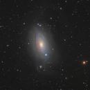 M63 Sunflower galax,                                bawind Lin