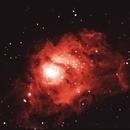 Nebulosa da Lagoa,                                Izaac da Silva Leite