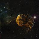 IC443  Jellyfish Nebula in SHO,                                Roland Schliessus
