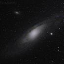 M31 Andromeda Galaxy,                                mightymonoped