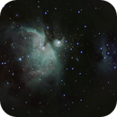 M42 Refractor first image,                                Michael Southam