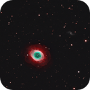M57 - H-alpha O-III LRGB,                                Ron