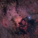 NGC7000,  30x120s + 45x60s HDR,                                turfpit