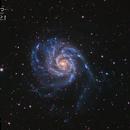 M101 La galaxie du Moulinet,                                JLastro