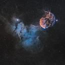 Jellyfish Nebula in SHO,                                Sendhil Chinnasamy