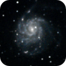 M101, the Pinwheel galaxy,                                nhw512