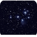 The Pleiades,                                Håvard Kinnerød