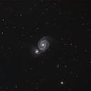 Whirlpool Galaxy,                                Jared Watson