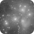M45 Pleiades in Mono,                                Bobbair