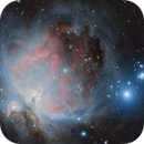 The Orion Nebula (Close Crop) - 10/16/09 ,                                AstroPoverty