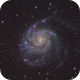 M101, Featuring Supernova SN 2011fe,                                wadeh237