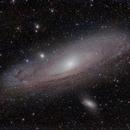 Andromeda Galaxy in RGB,                                minhlead