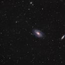Bode's Nebula and Cigar Galaxy,                                Matthew Enrietta