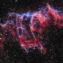 NGC6992 - The Eastern Veil Nebula,                                blastrophoto