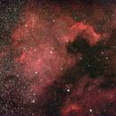 NGC 7000 North America Nebula, Cygnus 6 e 7 Giugno 2016,                                Ennio Rainaldi