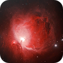 Messier 42 - M42 Orion Nebula (HOO Bicolour Combination),                                William Tan
