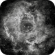 Rosette nebula in Ha,                                Mike
