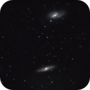M65 - M66 with Atik Infinity Live CCD,                                Dave
